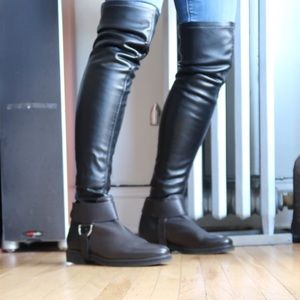 Over The Knee Pull On Boots Original Box VIC